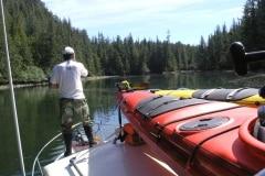 Boat and Kayak Exploring